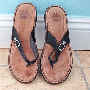 UGG Kamiko Leather Thong Sandal
